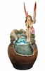 "12"" Wishing Fairy Tabletop Fountain"