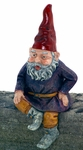 "13"" Merlin Shelf Sitter Gnome"