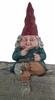 "13"" Zelda Shelf Sitter Gnome"