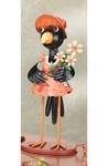 "15"" Crow Lady Figurine"