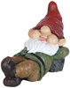 """16"""" Woodsy Gnome Statue Sleeping"""