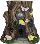 "17"" Solar Stump Home"