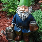 "18"" BobbleHead Watering Gnome"