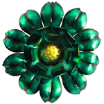 "18"" Garden Bloom Wall Art - Green"
