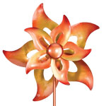 "19"" Open Flower Wind Spinner"
