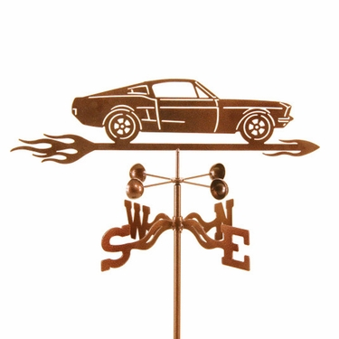 1967 Mustang Weathervane - Click to enlarge