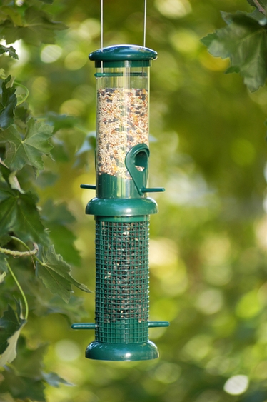 2 Chamber Mixed Feeder - Click to enlarge