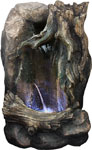 "21"" Rainforest Falls Fountain w/LED Lights"