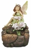 "23"" Daydreaming Fairy Garden Fountain"