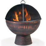 "26"" Fire Bowl w/ Spark Screen"