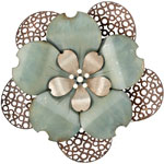 "26"" Lace Flower Wall Decor"
