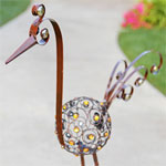 "27"" Small Filigree Bird - Bronze"