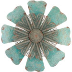 "28"" Embossed Lace Flower Wall Decor"