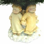 "28"" Fiber Optic Christmas Tree - Four Angels"