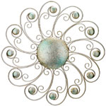 "29"" Swirls Wall Decor"