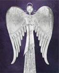 "30"" Heavenly Angel w/ Star"