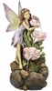 "31"" Flower Fairy Garden Fountain"