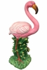 "32"" Flamingo Statue - Natural Pink"