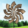 "32"" Kinetic Goldrush Wind Spinner"