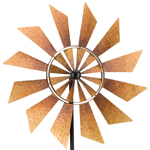 "32"" Rustic Turbine Wind Spinner"