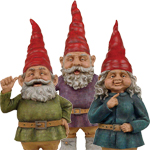 "32"" Toad Hollow Gnomes (Set of 3)"