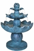 "35"" Springtime Lotus Garden Fountain"