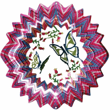 3D Butterfly Wind Spinner - Click to enlarge