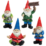 "4"" Mini Gnomes (Set of 4)"
