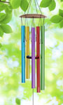 "40"" Multi-Color Wind Chime"