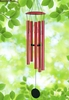 "40"" Red Wind Chime"