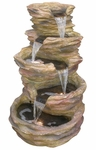 "40"" Sedona Rock Cascades Outdoor Fountain"