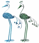 "41"" Filigree Bird Combo Pack - Blue & Green"