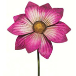 "46"" Gorgeous Flower Stake - Magenta"