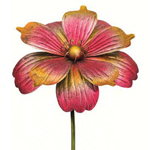 "46"" Gorgeous Flower Stake - Pink/Gold"