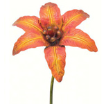 "46"" Gorgeous Flower Stake - Yellow/Orange"