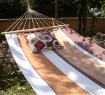 60 Thompson Stripe Fabric Hammock