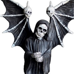"66.5"" Grim Reaper Statue: Angel of Death"