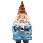 "8.5"" Talking Travelocity Gnome - Christmas Lights"