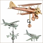Airplane Weathervanes