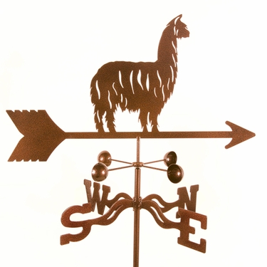 Alpaca Llama Weathervane - Click to enlarge