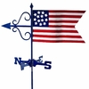 Americana Flag Weathervane