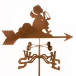 Angel on Cloud Weathervane