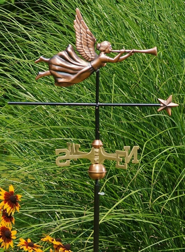 Angel Weathervane - Click to enlarge