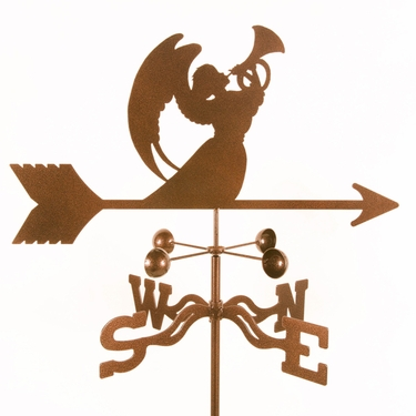 Angel with Horn Weathervane - Click to enlarge