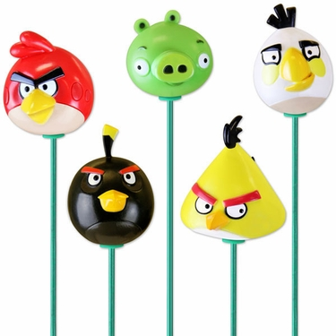 Angry Birds Plant Stakes (Set of 6) - Click to enlarge