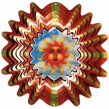 Animated Sun Wind Spinner - Click to enlarge