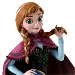 Anna Figurine from Disney's Frozen
