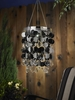 Anywhere Shimmer Chandelier - Platinum