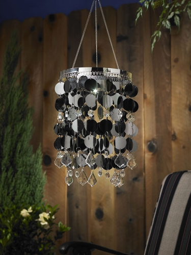 Anywhere Shimmer Chandelier - Platinum - Click to enlarge