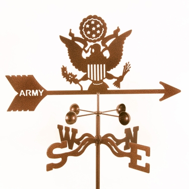 Army Weathervane - Click to enlarge